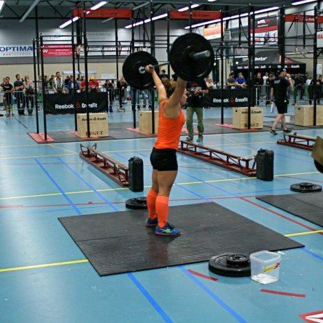 Dominique Adam (Reebok CrossFit Louvre), 48ème des qualifications,