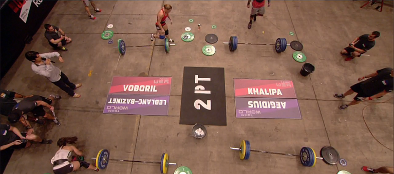 Plateau 2 points WOD 4
