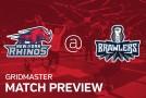 NPGL : New York Rhinos vs DC Brawlers