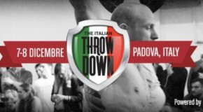 Italian Throwdown: events annoncés