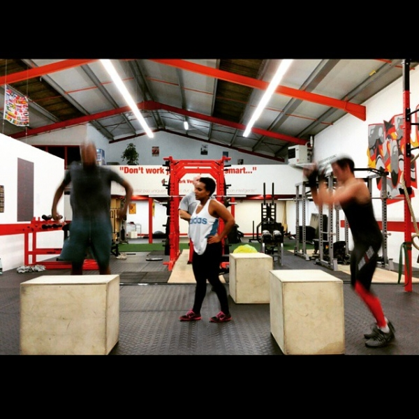 The box CrossFit Limoges