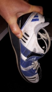 Flexibilité chaussure