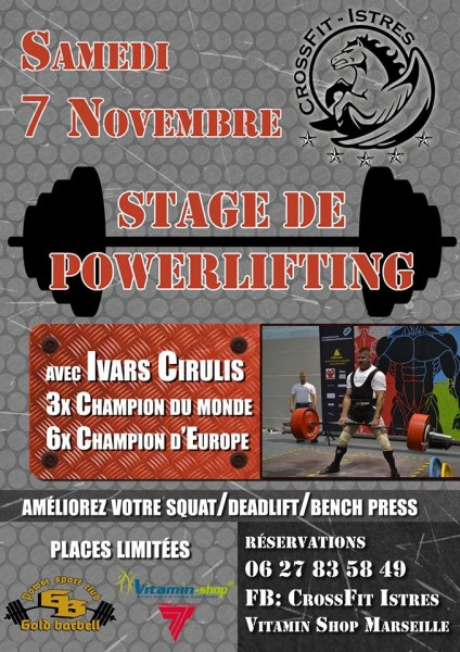 CrossFit Istres, powerlifting
