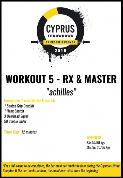 Cyprus throwdown