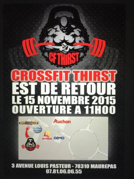 CrossFit Thirst