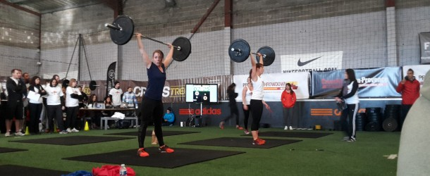 Provence throwdown résultats wod play fitness