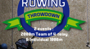 Rowing Throwdown : rdv le 05/12/ 2015 à la Grande Motte