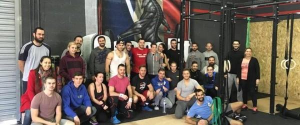 CrossFit Vias a ouvert ses portes le weekend dernier… a tout le monde !
