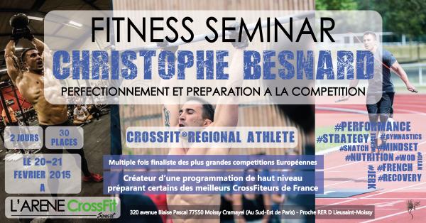 Christophe Besnard -  l'arene crossfit senart