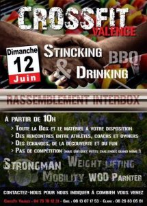 CrossFit Valence, Stinking and drinking