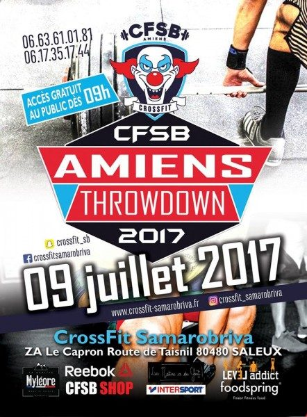 Amiens throwdown