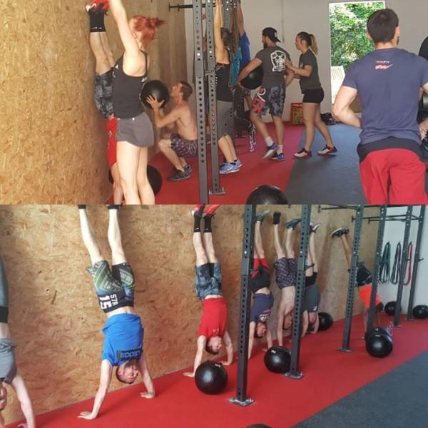 Une compétition à CrossFit SLMV