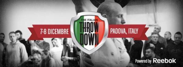Italian Throwdown: events annoncés