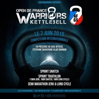 CrssWarior Open de France Kettlebell