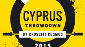Cyprus throwdown 2015 – les WODS