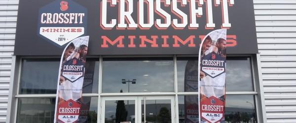 Visite à CrossFit Minimes