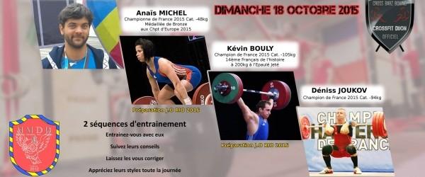 Séminaire Halthérophile à DIJON – CrossFit Dijon