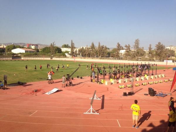 the Cyprus throwdown