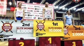 Lukas Högberg et Annie Thorrisdottir remportent le Turkish Throwdown