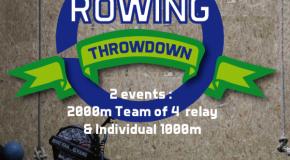 Rowing Throwdown : rdv le 05/12/ 2015 à la Grande Motte