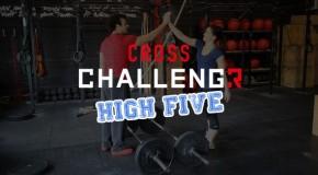 Cross Challengr High five wod 3 Immortels