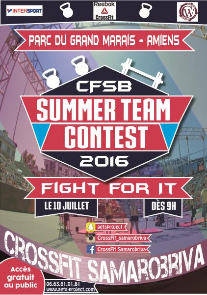 Summer team contest affiche 2016